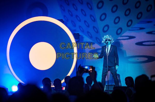 LAS VEGAS, NV - October 21, 2016: ***HOUSE COVERAGE*** Pet Shop Boys perform at The Chelsea at The Cosmopolitan of Las Vegas in Las Vegas, NV on October 216, 2016. <br /> CAP/MPI/EKP<br /> &copy;EKP/MPI/Capital Pictures