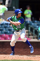 Lexington Legends outfielder Tyler Chism (22) at bat during a game against the Hagerstown Suns on May 19, 2014 at Whitaker Bank Ballpark in Lexington, Kentucky.  Lexington defeated Hagerstown 10-8.  (Mike Janes/Four Seam Images)