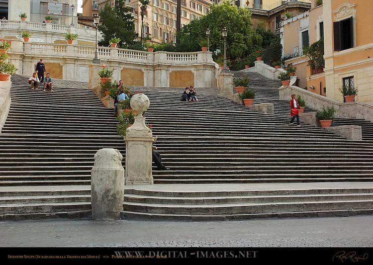 Spanish Steps Scalinata della Trinita dei Monti Pincio Hill Piazza di Spagna Rome