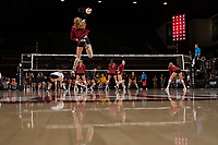 Stanford Volleyball W vs Cal, September 20, 2017