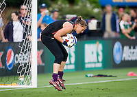 Nicole Barnhart. The USWNT defeated Japan, 2-0,  at WakeMed Soccer Park in Cary, NC.