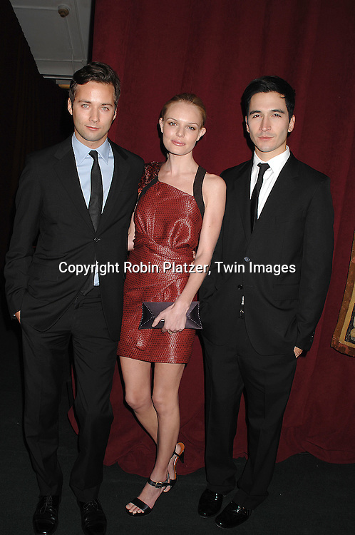 Kate Bosworth in Provenz Schuler dress ..arriving at The 7th on Sale Black Tie Gala Dinner on ..November 15, 2007 at The 69th Regiment Armory in New York. The Fashion Industry's Battle Against HIV and AIDS..will benefit...Robin Platzer, Twin Images