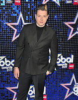 John Newman at the Global Awards 2019, Hammersmith Apollo (Eventim Apollo), Queen Caroline Street, London, England, UK, on Thursday 07th March 2019.<br /> CAP/CAN<br /> &copy;CAN/Capital Pictures