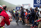September 6th 2017, Los Machucos Momumento Vaca Pasiega, Spain; Cycling, Vuelta a Espana Stage 17; Stefan Denifl