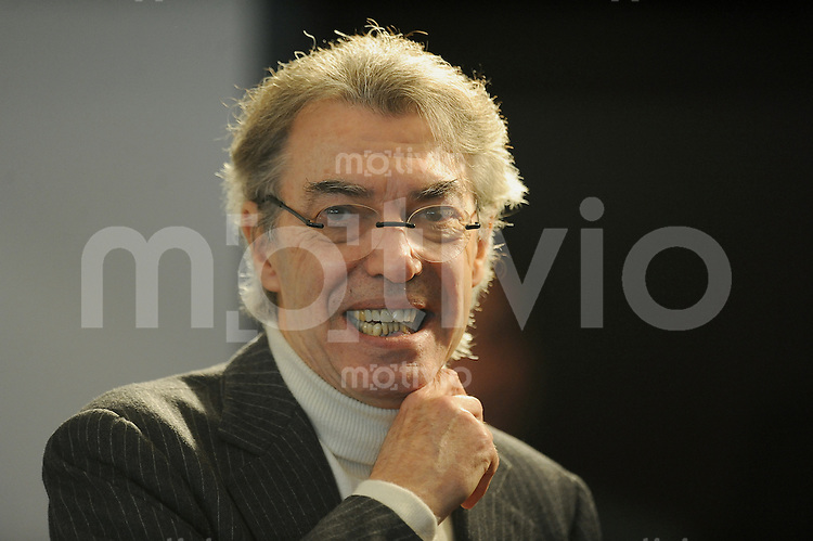 FUSSBALL  International  Champions League  SAISON 2010/2011  29.12.2010 Inter Mailand     Praesident Massimo Moratti