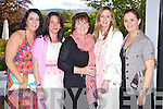 Ciara O'Connor, Meave Keegan, Helen Fitzgibbon, Angela O'Sullivan and Mai Harris, Ballyhigue pictured at a concert by Jerry Fish and friends a Fundraiser for the Niall Mellon South African Township at the Ballygarry House Hotel on Sunday.