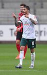 FussballFussball: agnph001:  1. Bundesliga Saison 2019/2020 27. Spieltag 23.05.2020<br />SC Freiburg - SV Werder Bremen<br />Leonardo Bittencourt (Bremen) jubelt nach dem Tor zum 0:1<br />FOTO: Markus Ulmer/Pressefoto Ulmer/ /Pool/gumzmedia/nordphoto<br /><br />Nur fŸr journalistische Zwecke! Only for editorial use! <br />No commercial usage!