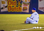 1 April 2016: Toronto Blue Jays infielder Troy Tulowitzki watches pre-game ceremonies prior to a pre-season exhibition game against the Boston Red Sox at Olympic Stadium in Montreal, Quebec, Canada. The Red Sox defeated the Blue Jays 4-2 in the first of two MLB weekend exhibition games, which saw an attendance of 52,682 at the former home on the Montreal Expos. Mandatory Credit: Ed Wolfstein Photo *** RAW (NEF) Image File Available ***