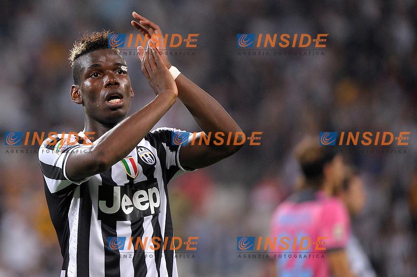 Paul Pogba Juventus<br /> Torino 31-08-2013 Juventus Stadium<br /> Football Calcio 2013/2014 Serie A<br /> Juventus Vs Lazio<br /> Foto Federico Tardito Insidefoto