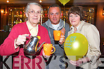 BREWING UP: The Kerry SOuth branch of the Irish Cancer Society who held a coffee morning in aid of Daffodil are very grateful to the support they received on Friday morning in the Killarney Towers Hotel..From l-r were: Sr. Anna Marie, Eugene O'Sullivan and Anne Moynihan.