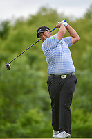 Kiradech Aphibarnrat (THA) watches his tee shot on 4 during round 3 of the AT&T Byron Nelson, Trinity Forest Golf Club, Dallas, Texas, USA. 5/11/2019.<br /> Picture: Golffile | Ken Murray<br /> <br /> <br /> All photo usage must carry mandatory copyright credit (© Golffile | Ken Murray)