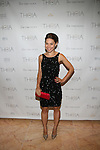 Actress Rebecca Blumhagen Attends Theia Spring 2014 Presentation Held at the New York Palace, NY