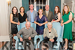 Tara De Courcey from Killarney celebrated her 40th birthday surrounded by friends and family in the Killarney Avenue hotel, last Saturday night. Pictured with front James and Chris De Courcey, back l-r Bernadette De Courcey, Maureen Corbett, Brian, John, Caroline and Sharon De Courcey.