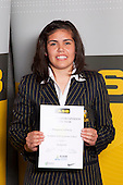 Basketball Girls winner Moengaroa Subritzsky from Auckland Girls Grammar School. ASB College Sport Young Sportsperson of the Year Awards held at Eden Park, Auckland, on November 11th 2010.