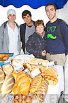 Fergus O'Connor, Gabriel Carrello, Orla Gowen and Darren DeJonghe, enjoying the Food for Thought food fair, held at IT Tralee on Wednesday.