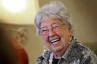 Seniors enjoying the companionship of assisted living.