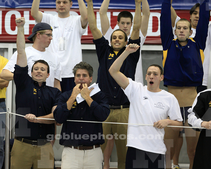 February 25th, 2010 Men's Big Ten Swimming & Diving Championships held at the Ohio State University.