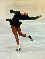 Annett Potzsch East Germany 1978 World Figure Skating Championships, Ottawa. Canada. Gold medal winner. Photo copyright Scott Grant