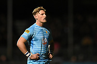 Tom Howe of Worcester Warriors. Premiership Rugby Cup match, between Saracens and Worcester Warriors on November 11, 2018 at Allianz Park in London, England. Photo by: Patrick Khachfe / JMP