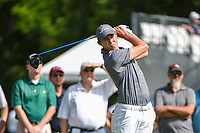 Matt Fitzpatrick (ENG) watches his tee shot on 3 during round 3 of the 2019 Charles Schwab Challenge, Colonial Country Club, Ft. Worth, Texas,  USA. 5/25/2019.<br /> Picture: Golffile | Ken Murray<br /> <br /> All photo usage must carry mandatory copyright credit (© Golffile | Ken Murray)