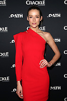 CULVER CITY, CA - MARCH 7: Sarah Dumont, pictured at Crackle's The Oath Premiere at Sony Pictures Studios in Culver City, California on March 7, 2018. <br /> CAP/MPIFS<br /> &copy;MPIFS/Capital Pictures