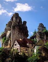 Deutschland, Bayern, Franken, Tuechersfeld: Fraenkische Schweiz Museum | Germany, Bavaria, Upper Bavaria, Franconia, Tuechersfeld: Franconian Switzerland Museum