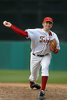 March 7 2010: Chris Mezger of USC during game against University of New Mexico at Dedeaux Field in Los Angeles,CA.  Photo by Larry Goren/Four Seam Images