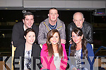 TRACK FUN: Christina Moloney, Marian Park, Tralee having great fun celebrating her 21st birthday with family and friends at the Kingdom Greyhound Stadium Night at the Dogs on Friday seated l-r: Jacqui Hurley, Christina Moloney and Mary Moloney. Back l-r: Brian Hurley, Lee Jones and Jimmy Moloney.
