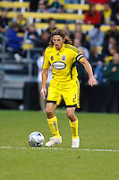25 OCTOBER 2009:  Frankie Hejduk of the Columbus Crew(2) during the New England Revolution at Columbus Crew MLS game in Columbus, Ohio on October 25, 2009.