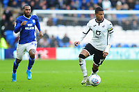 Rhian Brewster of Swansea City in action during the Sky Bet Championship match between Cardiff City and Swansea City at the Cardiff City Stadium in Cardiff, Wales, UK. Sunday 12 January 2020