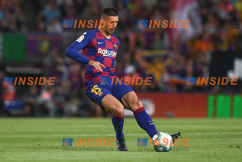 FOOTBALL: FC Barcelone vs Real Betis - La Liga-25/08/2019<br /> Clement Lenglet (FCB)<br />  <br /> 25/08/2019 <br /> Barcelona - Real Betis  <br /> Calcio La Liga 2019/2020  <br /> Photo Paco Largo/Panoramic/insidefoto