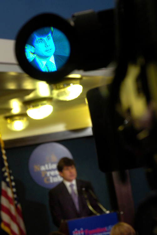 "Gov. Rod Blagojevich , D-Il., spoke today at the National Press Club about the landmark program, ""All Kids,"" which will cover all uninsured children in Illinois with health care coverage."