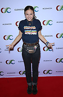 13 April 2019 - Las Vegas, NV - Dominique Provost-Chalkley. 2019 ClexaCon Cocktails for Change at The Tropicana Hotel. <br /> CAP/ADM/MJT<br /> &copy; MJT/ADM/Capital Pictures