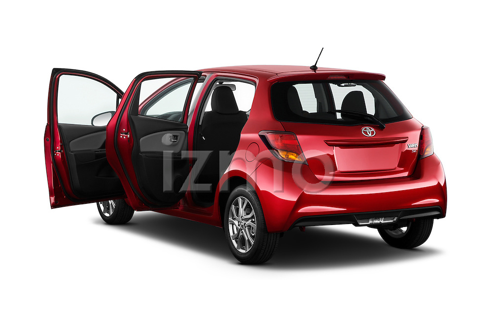 Car images of a 2015 Toyota Yaris SE 5-Door Liftback AT 5 Door Hatchback Doors