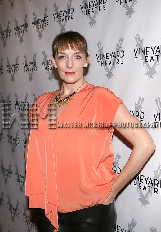Julia Murney attends the Opening Night After Party for The Vineyard Theatre's presentation of 'The Landing' at the Vineyard Theatre on October 23, 2013 in New York City.