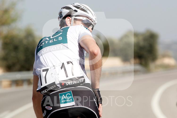 Etapa en linea ruta vuelta a Madrid 2011 17 Javier San Emeterio AC Marriot. (ALTERPHOTOS/Alvaro Hernandez)