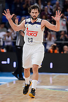Real Madrid's Sergio Llull during Quarter Finals match of 2017 King's Cup at Fernando Buesa Arena in Vitoria, Spain. February 19, 2017. (ALTERPHOTOS/BorjaB.Hojas)