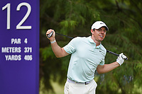 Rory McIlroy (NIR) watches his tee shot on 12 during round 4 of the WGC FedEx St. Jude Invitational, TPC Southwind, Memphis, Tennessee, USA. 7/28/2019.<br /> Picture Ken Murray / Golffile.ie<br /> <br /> All photo usage must carry mandatory copyright credit (© Golffile | Ken Murray)