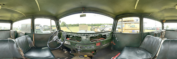 Series 1 Tickford Station Wagon. Dunsfold Collection Open Day 2009. NO RELEASES AVAILABLE. Automotive trademarks are the property of the trademark holder, authorization may be needed for some uses. --- Note: This is a digitally stitched panoramic image.