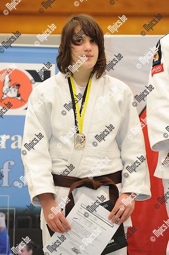 2011-02-13 / Judo / seizoen 2010-2011 / VK U17 Herentals / -70 / Annelieke Scheelen..Foto: mpics
