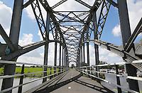 Nederland  Schipluiden 2016. Trambrug over de Vlaardingervaart.   Foto Berlinda van Dam / Hollandse Hoogte