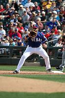 Mitch Moreland - Texas Rangers 2016 spring training (Bill Mitchell)