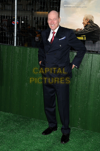 "Ed Lauter.""Trouble With The Curve"" Los Angeles Premiere held at the Regency Village Theatre, Westwood, California, USA..September 19th, 2012.full length suit black blue red tie white shirt .CAP/ADM/BP.©Byron Purvis/AdMedia/Capital Pictures."
