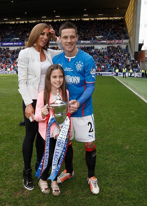 Ian Black and family