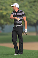 Benjamin Hebert (FRA) on the 3rd fairway during Round 2 of the Omega Dubai Desert Classic, Emirates Golf Club, Dubai,  United Arab Emirates. 25/01/2019<br /> Picture: Golffile | Thos Caffrey<br /> <br /> <br /> All photo usage must carry mandatory copyright credit (© Golffile | Thos Caffrey)