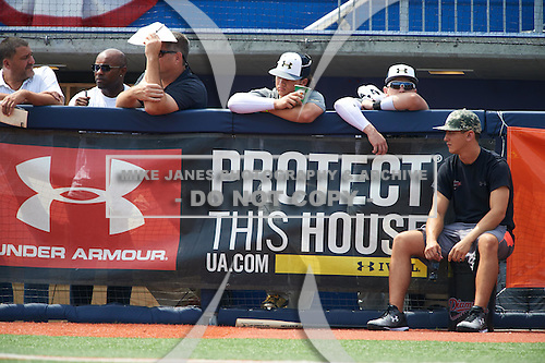 during the Under Armour All-American Game practice on August 14, 2015 at Les Miller Field in Chicago, Illinois. (Mike Janes/Four Seam Images)