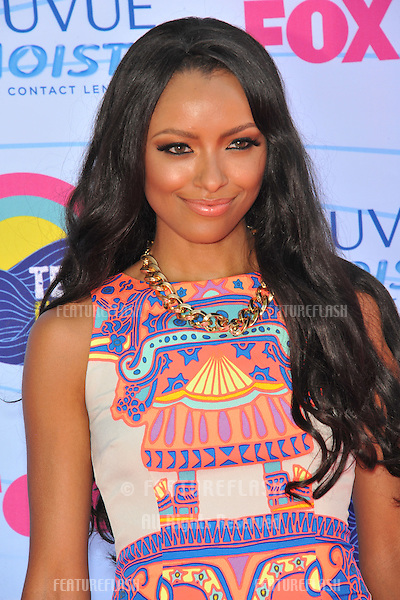 Kat Graham at the 2012 Teen Choice Awards at the Gibson Amphitheatre, Universal City..July 23, 2012  Los Angeles, CA.Picture: Paul Smith / Featureflash