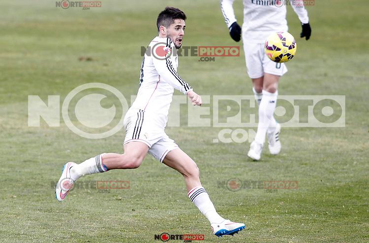 Real Madrid's Isco during La Liga match.January 18,2013. (ALTERPHOTOS/Acero) /NortePhoto<br /> NortePhoto.com