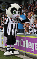 Paisley Panda Junior before the St Mirren v Hibernian Clydesdale Bank Scottish Premier League match played at St Mirren Park, Paisley on 18.8.12.