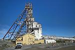 Mining, Giant mine headframe